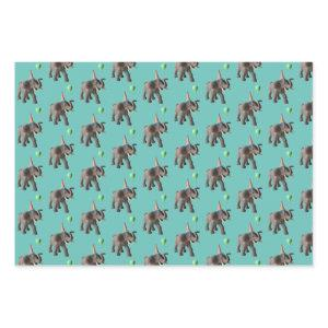 Party Animal Elephant Wrapping Sheets