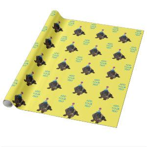 Party Pooper Wrapping Paper