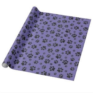 Paw Prints Design Wrapping Paper