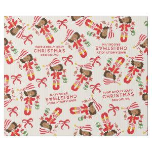 Personalize Multicultural Elf Wrapping Paper