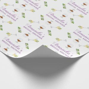 Personalized Bridal shower wrapping paper