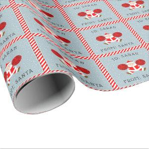 personalized cheerleader Christmas Wrapping Paper