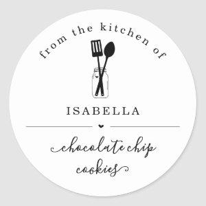 Personalized From the Kitchen of Sticker