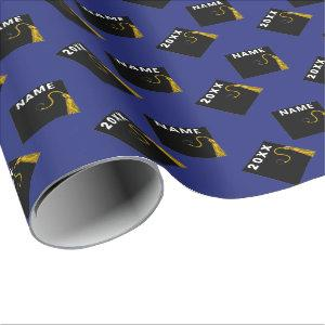 Personalized Graduation 2021 Wrapping Paper