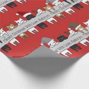 Personalized Kitty Cats Holiday