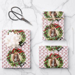 Pet Parent Christmas Photo Dog Wrapping Paper