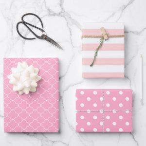 Pink Patterned  Sheets