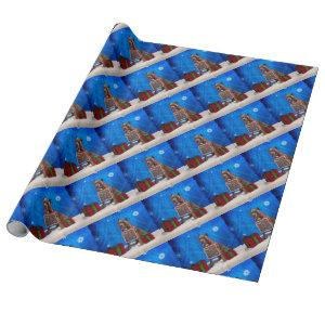 Pit-Bull Christmas Wrapping Paper
