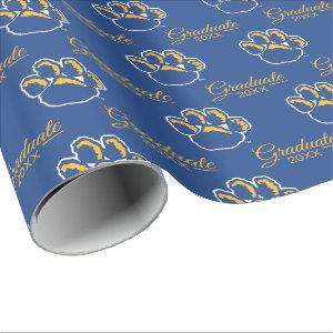 Pitt Graduation Wrapping Paper