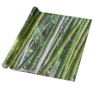 Plants Bamboo Forest Wrapping Paper