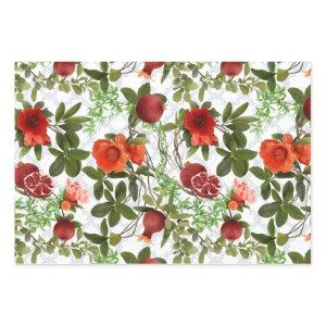 Pomegranates & Vines Wrapping Paper Sheets