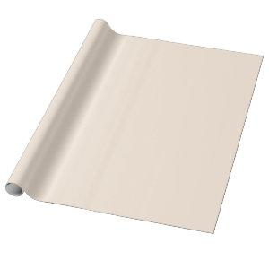Popular delicate cream.  Wrapping Paper