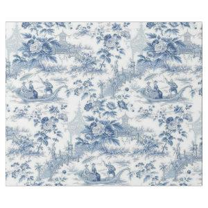 Powder Blue Chinoiserie Toile Wrapping Paper