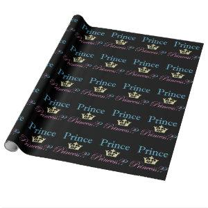 Prince or Princess? Wrapping Paper
