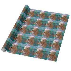 PROUD POODLE WRAPPING PAPER