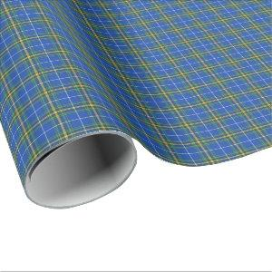 Province of Nova Scotia Canada Tartan Wrapping Paper