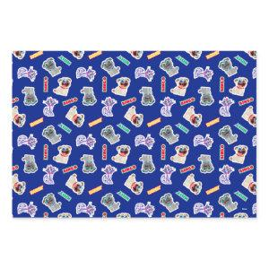 Puppy Dog Pals Blue Character Pattern Wrapping Paper Sheets