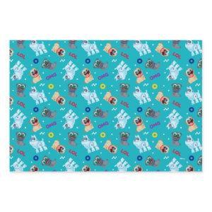 Puppy Dog Pals | OMG LOL Pattern Wrapping Paper Sheets