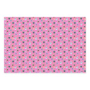 Puppy Dog Pals Pink Pattern Wrapping Paper Sheets