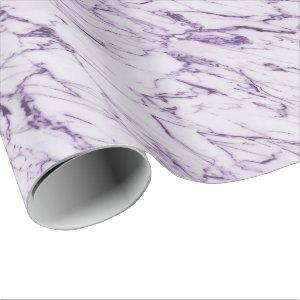 Purple Abstract Wrapping Paper