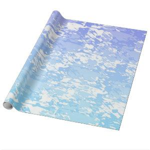Purple And Blue Ombre Wrapping Paper