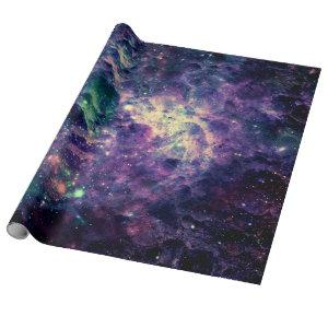 Purple Galaxy Space Rock Cool Wrapping Paper
