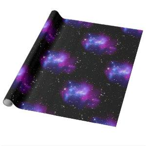 Purple Galaxy Universe Astronomy NASA Space Wrapping Paper