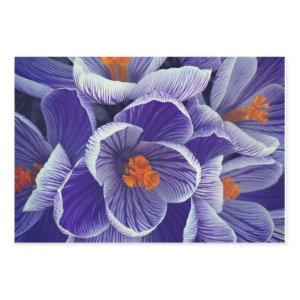 Purple Tulip Wrapping Paper