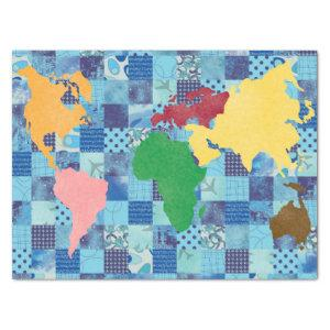 Quilted World Tissue Paper