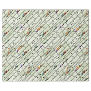 Railway Wrapping Paper