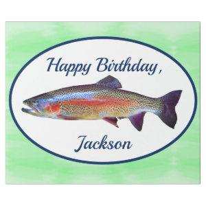 Rainbow Trout Wrapping Paper