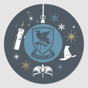 RAVENCLAW™ Holiday Bauble Graphic Classic Round Sticker
