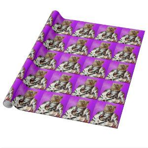 Reach for the stars wrapping paper