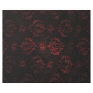 Red and Black Damask Gift Wrap