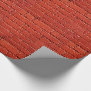 Red Brick Gift Wrap