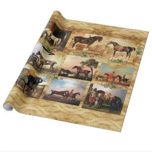 RED HORSE WRAPPING PAPER