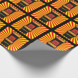 Retro Arcade Video Game Personalized Birthday Wrapping Paper