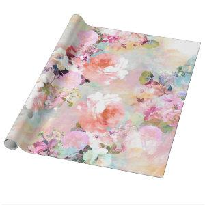 Flower Wrapping Paper Wrapping Paper