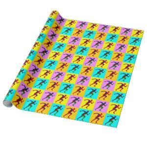 Runners Wrapping Paper