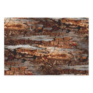 Rustic Wood Wrapping Paper Sheets