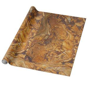 Sandstone abstract pattern wrapping paper