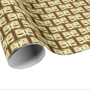 Scales/ Judge/ Justice Wrapping Paper