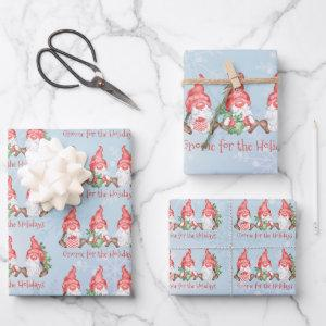 Scandinavian Gnome for the Holiday Christmas  Sheets