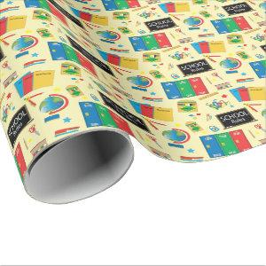 School Rules Fun Items | Teacher Wrapping Paper