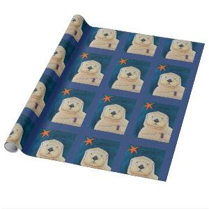 Sea Otter Wrapping Paper
