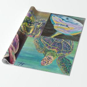 Sealife Wrapping Paper