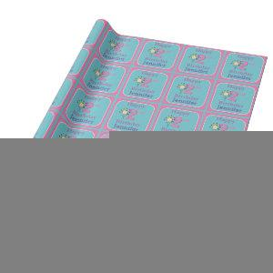Second Birthday, Two Year Old, Girl Wrapping Paper
