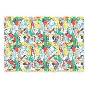 Sensational 6  | Modern Art Pattern Wrapping Paper Sheets