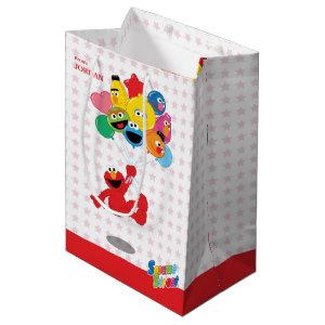 Sesame Street | Elmo and Pals - Birthday Balloons Medium Gift Bag