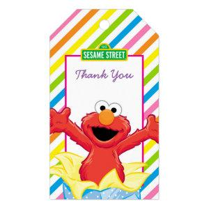 Sesame Street | Elmo Girl's Birthday Gift Tags